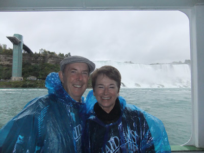 Anne and Duncan Ferries at Niagara Falls