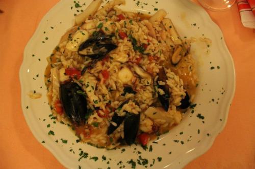 Delicious Risotto di mare (seafood risotto)