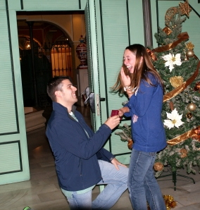 In the moment of the proposal