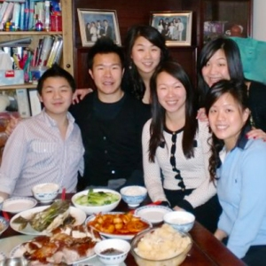 Jen and Family celebrating Chinese New Year