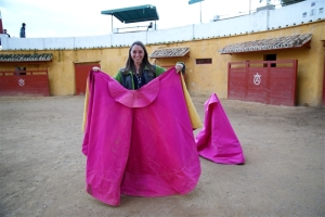 Ready to try bullfighting in Seville