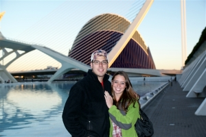 Beech and I in Valencia
