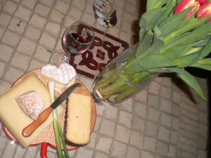My favourite food - a great French cheese board!