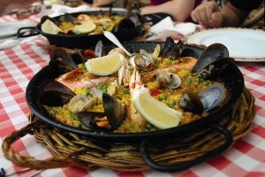 Delicious Spanish Paella