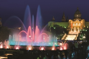 Dancing Fountains, Barcelona