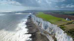 White Cliffs of Dover - photo by National Trust