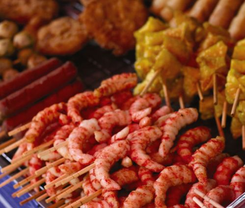 Street food is a big part of Asia's diverse cultures