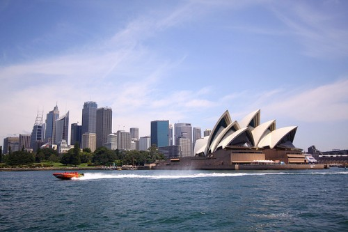 Sydney Harbour - photo by Adam Campbell under creative commons licence