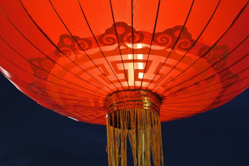 You'll see lanterns all over China during Chinese New Year - image by mac_ivan used under Creative Commons licence