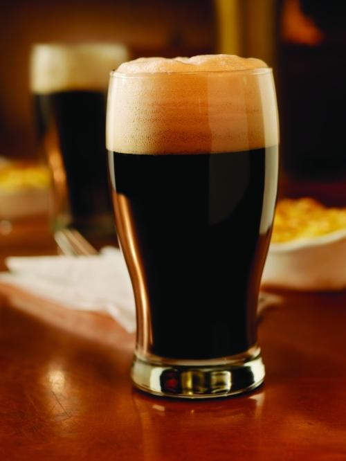 A pint of Irish stout