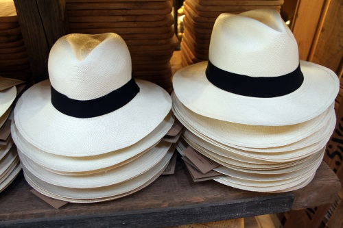 Panama Hats. Photo by flowcomm under Creative Commons Licence